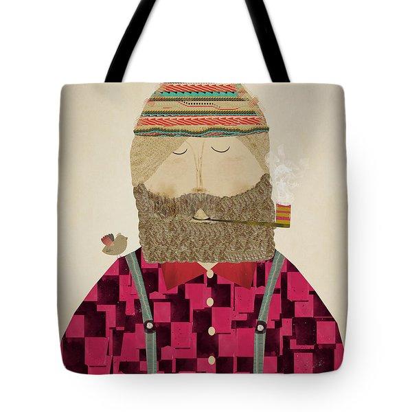 Lumberjack Jim Tote Bag