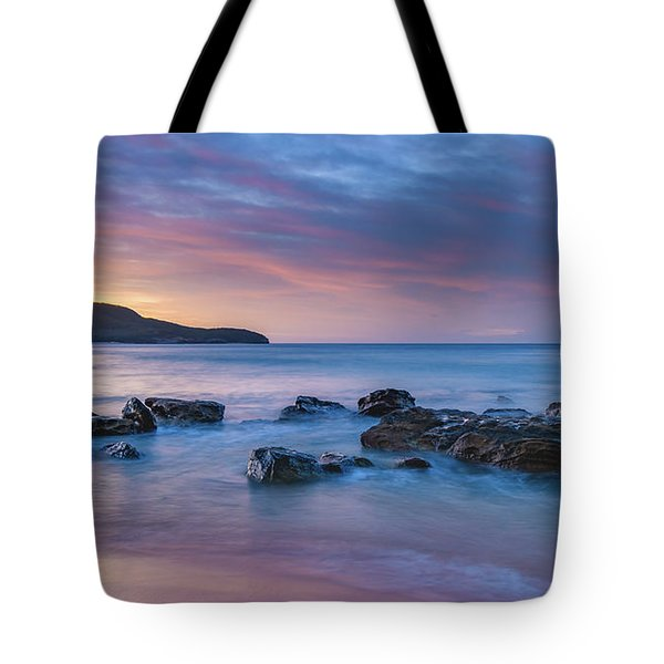 Luminescent Sunrise Seascape Tote Bag