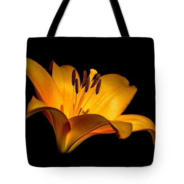Luminous Lilly Tote Bag