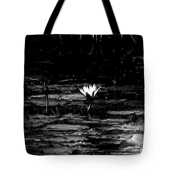 Luminous Water Lily  Tote Bag