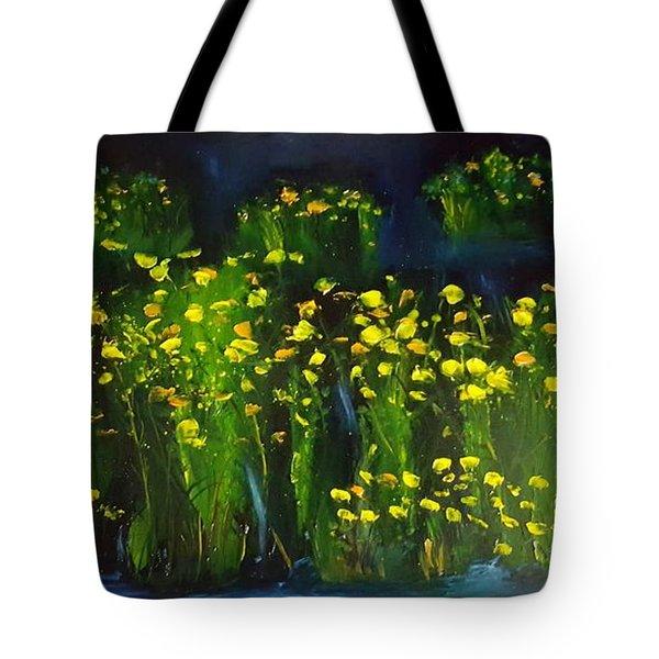 Lumonious Buds     17 Tote Bag