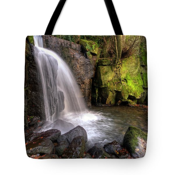 Tote Bag featuring the photograph Lumsdale Falls 3.0 by Yhun Suarez