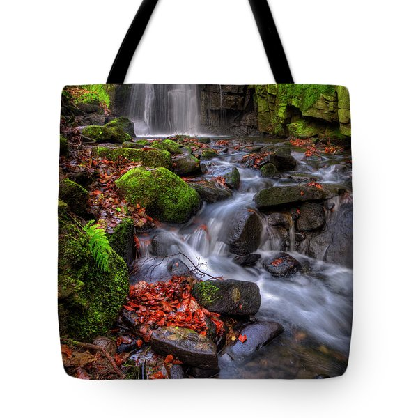 Tote Bag featuring the photograph Lumsdale Falls 4.0 by Yhun Suarez