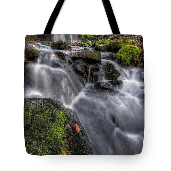 Tote Bag featuring the photograph Lumsdale Falls 5.0 by Yhun Suarez