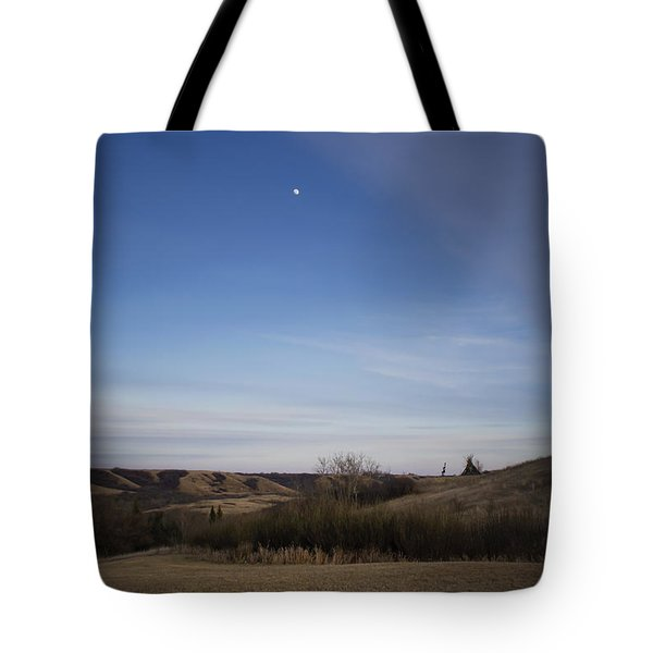 Lumsden Moon Rising Tote Bag by Ellery Russell