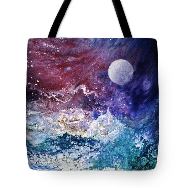 Luna Chrysalis Tote Bag by Lee Pantas