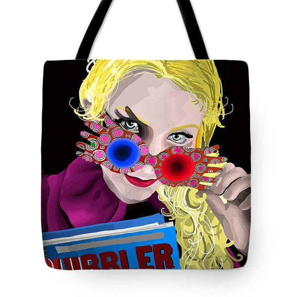 Luna Tote Bag by Lisa Leeman