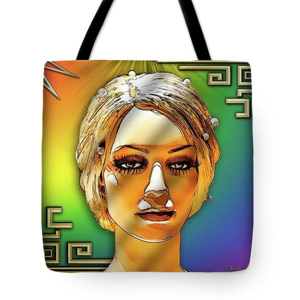 Luna Loves Deco Tote Bag