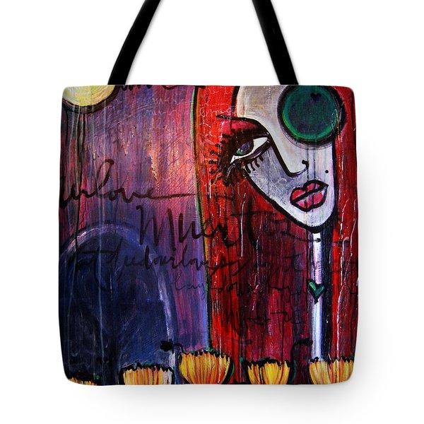 Luna Our Love Muertos Tote Bag