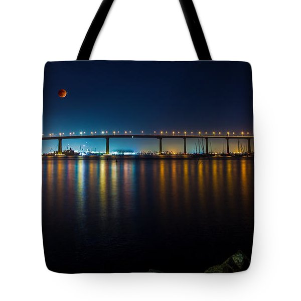 Tote Bag featuring the photograph Luna by Ryan Weddle