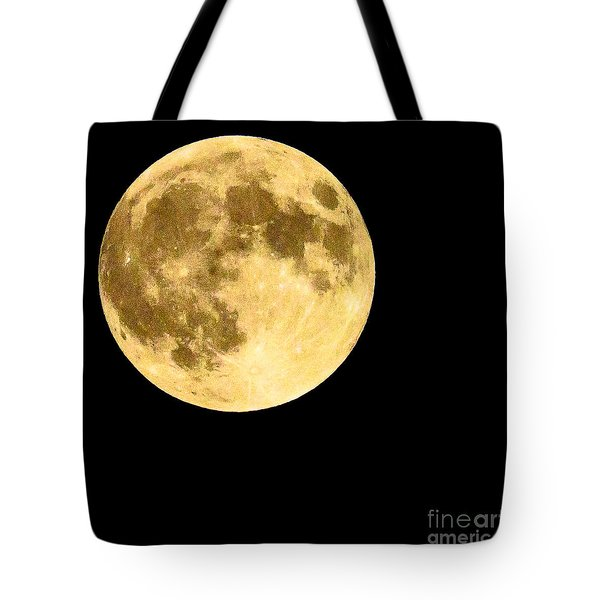 Lunar Close Up Tote Bag by Sandy Molinaro