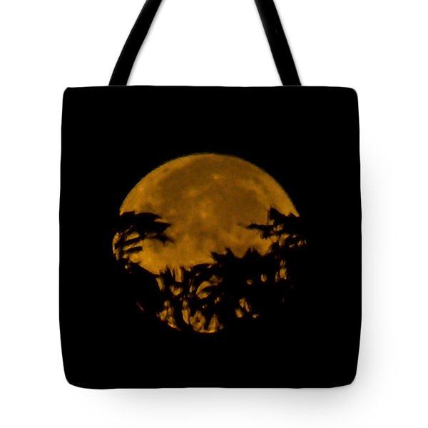 Lunar Crown Tote Bag