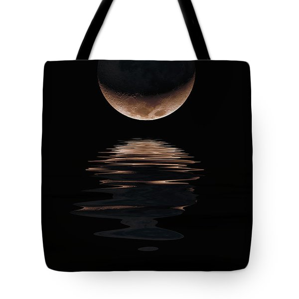 Lunar Dance Tote Bag by Jerry McElroy