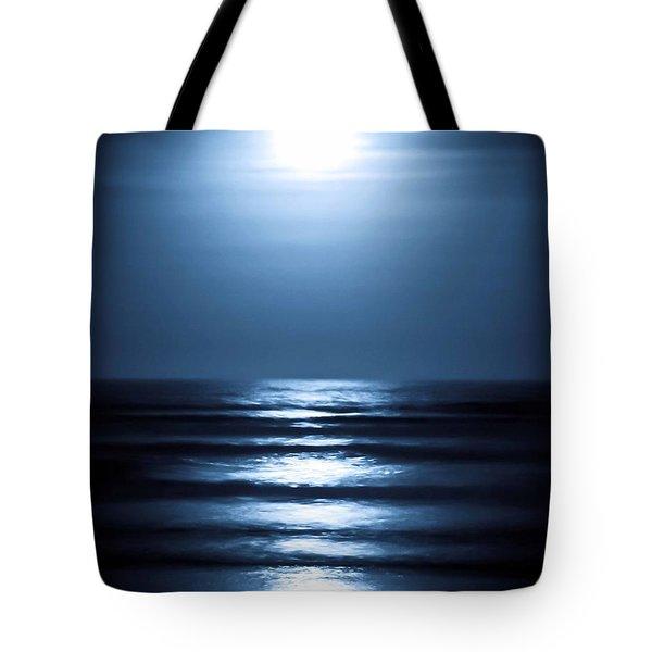 Lunar Dreams Tote Bag by DigiArt Diaries by Vicky B Fuller