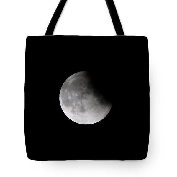 Lunar Eclips Tote Bag by Cathie Douglas
