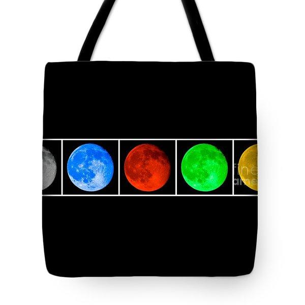 Lunar Line Tote Bag