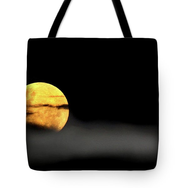 Tote Bag featuring the photograph Lunar Mist by Marion Cullen