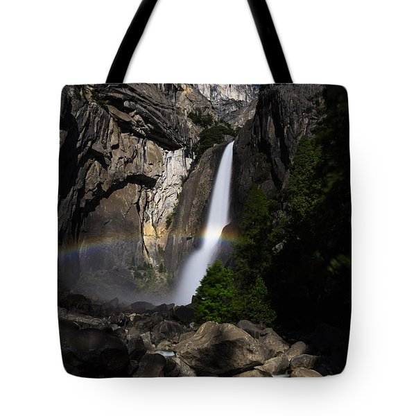 Lunar Rainbow Tote Bag