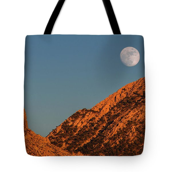 Lunar Sunset Tote Bag