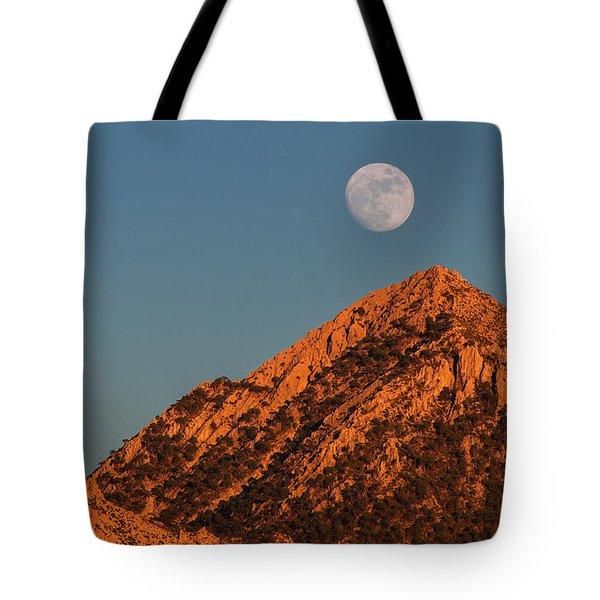 Lunar Sunset Tote Bag
