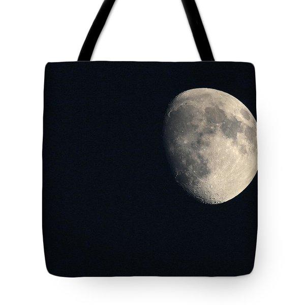 Lunar Surface Tote Bag by Angela Rath