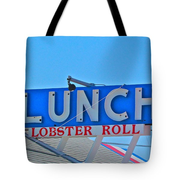 Lunch Tote Bag by Beth Saffer