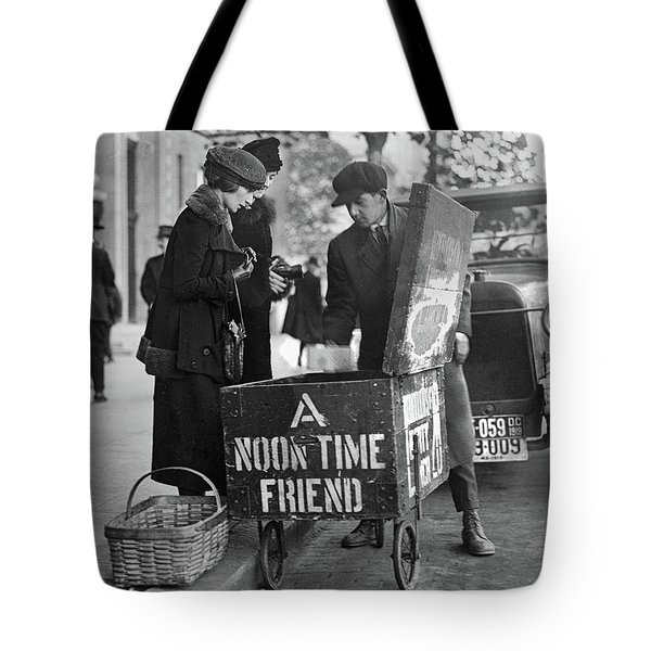 Lunch Cart In Washington D C Tote Bag