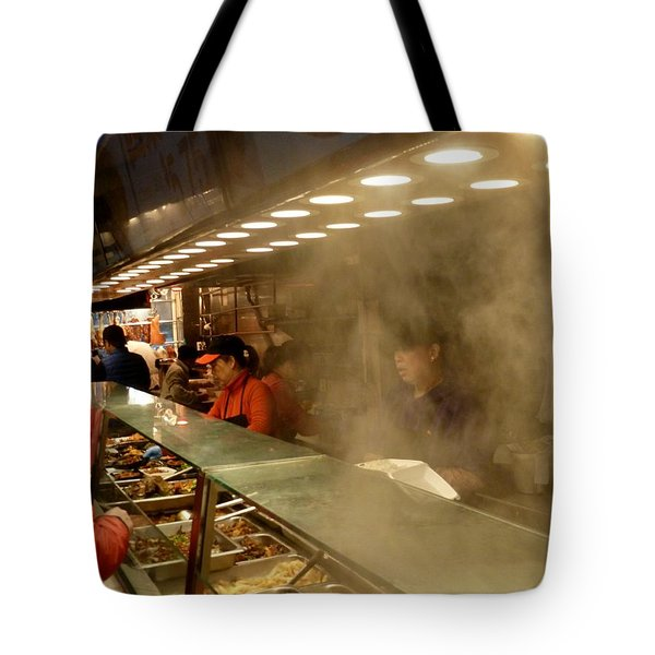 Lunch Counter In Flushing Tote Bag