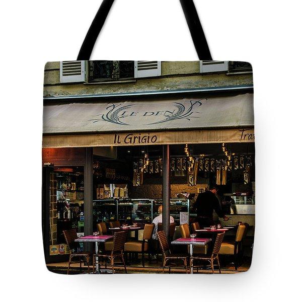 Lunch In Paris Tote Bag