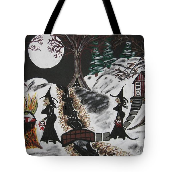 Tote Bag featuring the painting Lunch by Jeffrey Koss