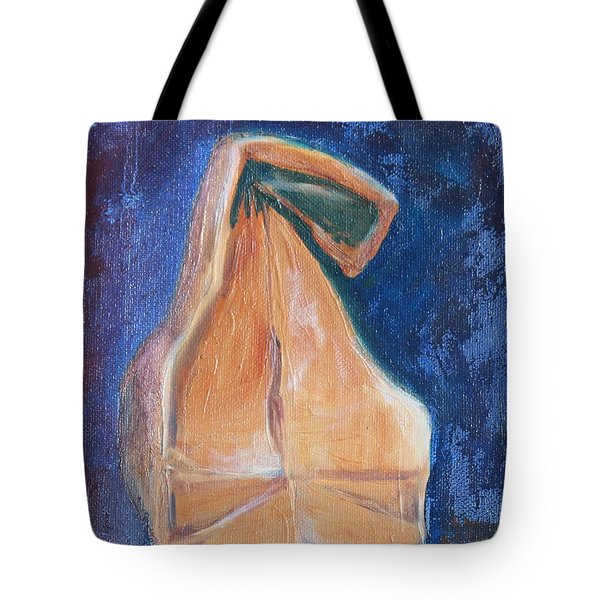 Lunch Sack Blue Tote Bag