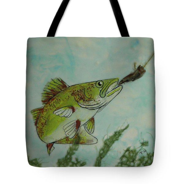 Lunch Tote Bag by Terry Honstead