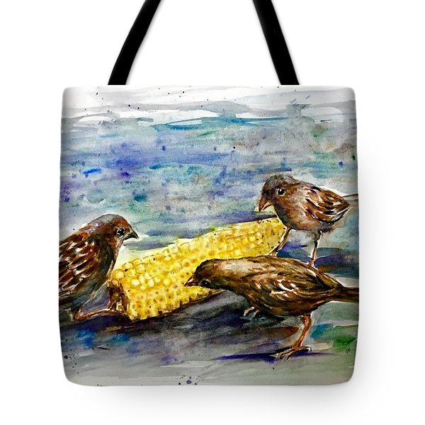 Lunch Time 2 Tote Bag