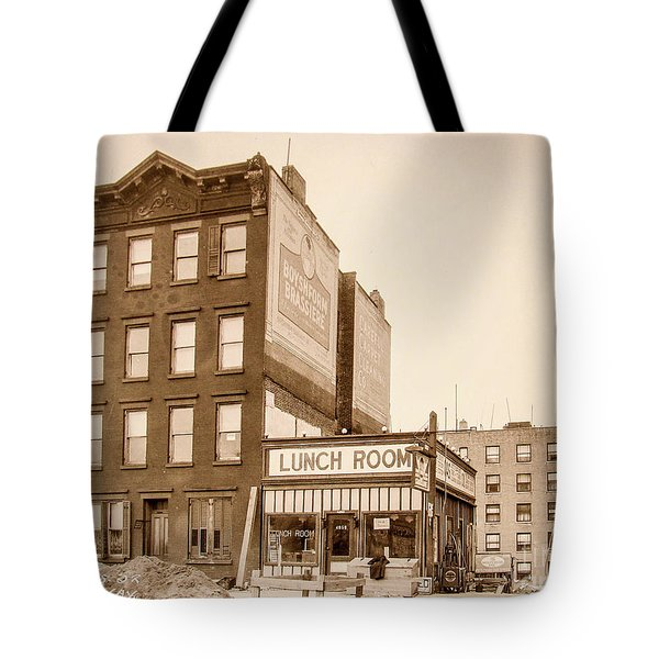 Tote Bag featuring the photograph Lunchroom  by Cole Thompson