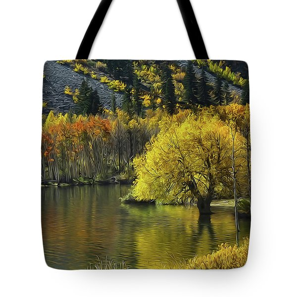 Lundy Lake Beauty Tote Bag