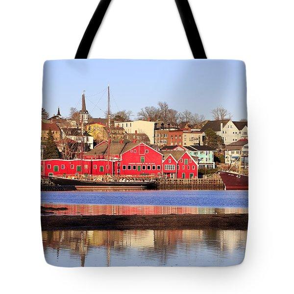 Lunenburg, Nova Scotia Tote Bag