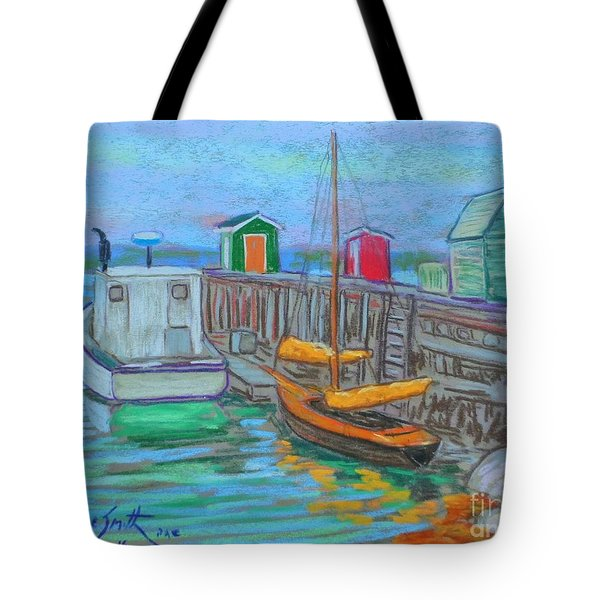 Lunenburg Waterfront  Tote Bag