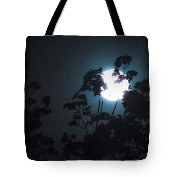 Luner Leaves Tote Bag
