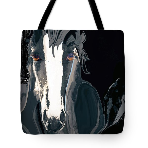 Lungta Windhorse No. 2-energy Tote Bag