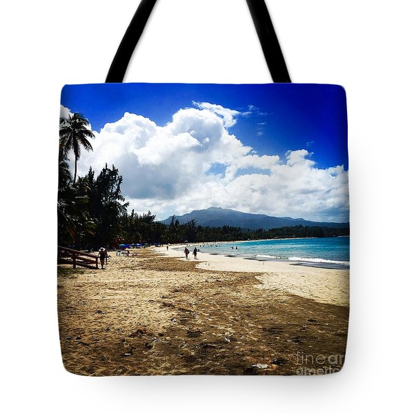 Luquillo Beach, Puerto Rico Tote Bag