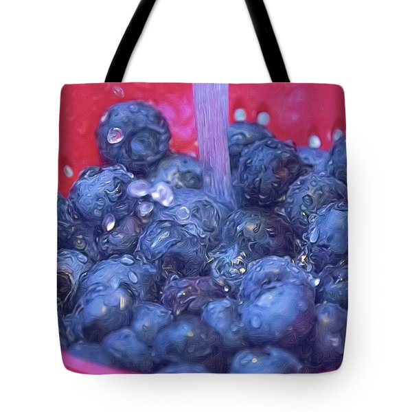 Luscious Berries Tote Bag
