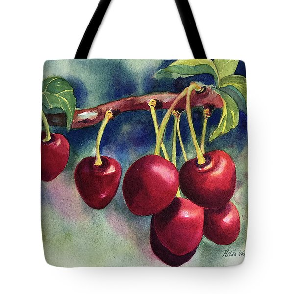 Luscious Cherries Tote Bag