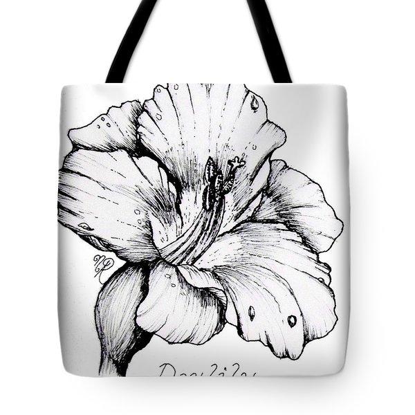 Luscious Daylily  Tote Bag