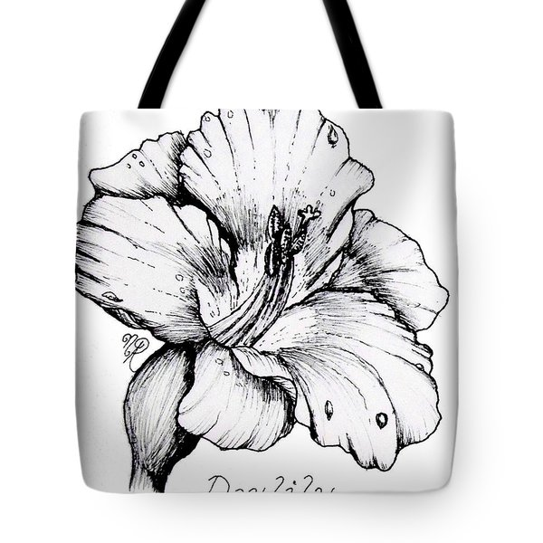 Luscious Daylily  Tote Bag