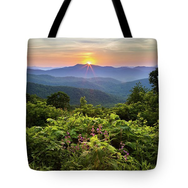 Lush Sunset In June Tote Bag