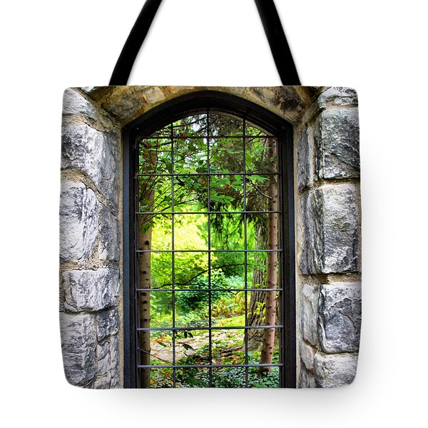 Lushness Beyond The Walls Tote Bag by Kristin Elmquist