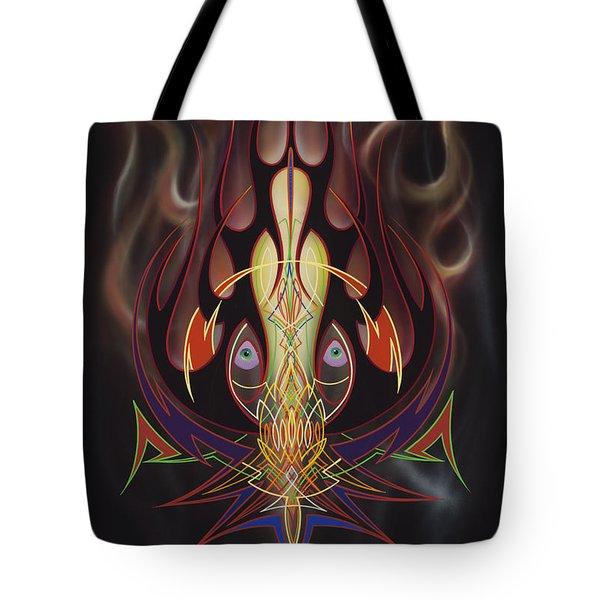 Lust Tote Bag by Alan Johnson