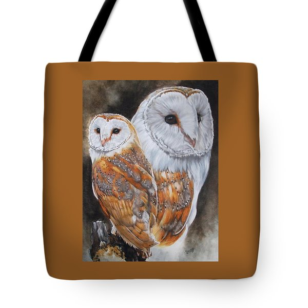 Luster Tote Bag by Barbara Keith