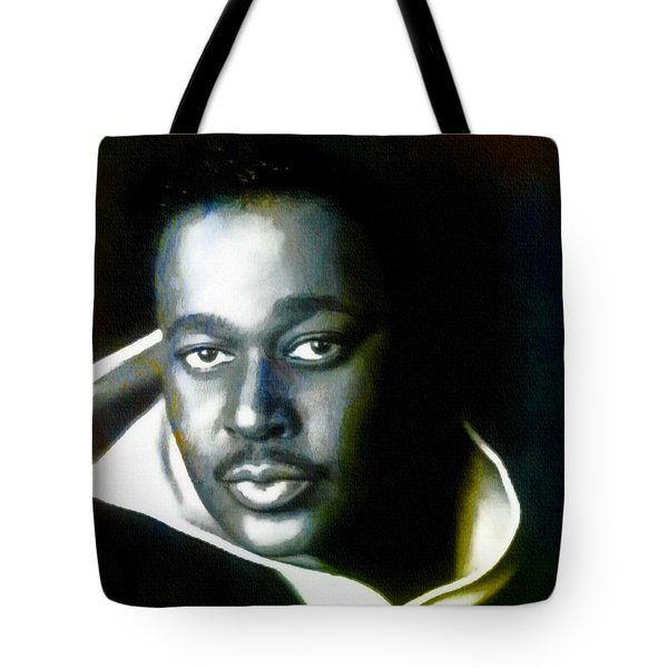 Luther Vandross - Singer  Tote Bag