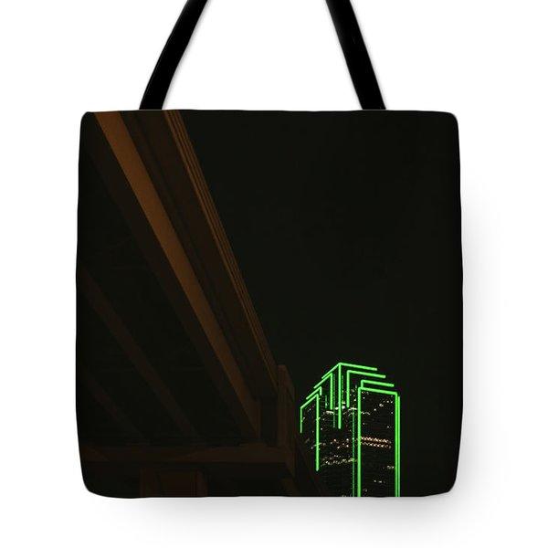 Lux Noir Tote Bag